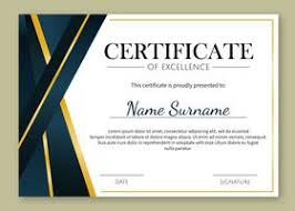 Templates For Certificates Certificate Templates Free Certificate Designs