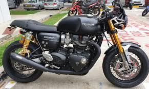 used triumph thruxton 1200 r bike for