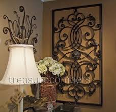 end materials large tuscan wall art above fireplace based screen dessign vintage awesome iron decoration terranian myriad ecellent