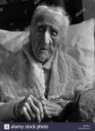 One hundred and ten years old Miss Hannah Smith who died in 1965 Stock  Photo - Alamy