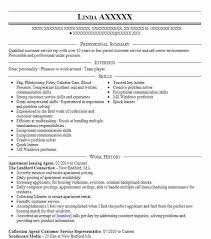 Sample Resume For Leasing Consultant Apartment Leasing Agent Resume Sample Agent Resumes Livecareer