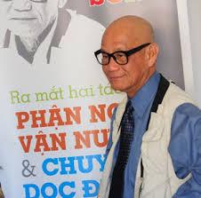Image result for ảnh nhà văn phan nhât nam