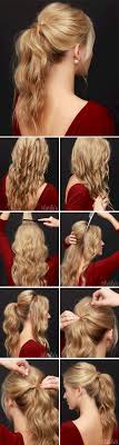 Hairstyles For Formal Dances Best 25 Formal Ponytail Ideas On Pinterest Wedding Ponytail