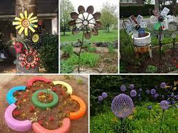 low budget diy garden art flowers