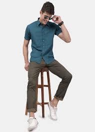 Park Avenue Shirt Size Chart Buy Casual Wear For Men Derby Shirts Jeans Slim Fit