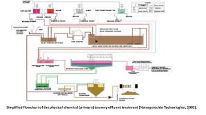 Leather Tanning Process Flow Chart Tannery Waste