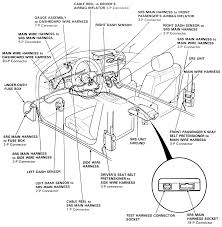Repair guides supplemental restraint system air bag general ponent locations legend passenger side and seat