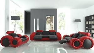 Plain Design Black And Red Living Room Bold Ideas 15 Black Red White Themed  Living Rooms