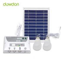 45W Solar Panel 5000mah Battery Mobile Solar Power LED Light Bulb Solar Powered Led Lights For Homes