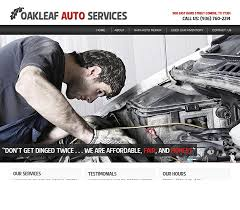 Web Portfolio Web Seekers Oakleaf Auto Service