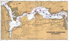 Tombigbee Waterway Charts Pickwick Landing State Park