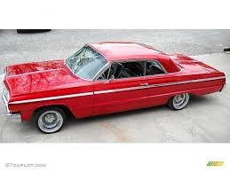 1964 Red Metallic Chevrolet Impala SS Coupe #48099690 | GTCarLot ...