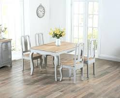 shabby chic round dining table and chairs the grey chic dining table with chairs great