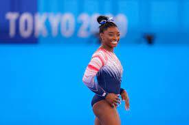 Simone Biles: Bronze medal beam routine ...