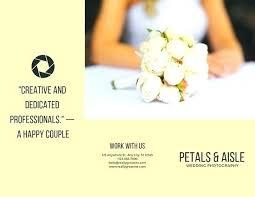 Wedding Ceremony Brochure Wedding Program Card Stock Grainsdor Com
