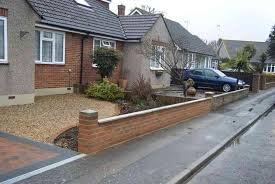 Small Picture Creative of Front Garden Wall Ideas Front Garden Brick Wall