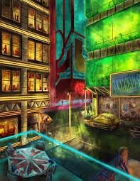 ArtStation - Night on the Town, Ivan Potter-Smith