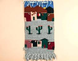 southwest tapestry wall hanging southwest tapestry wall hanging large throw rug southwestern western woven wool tapestry kids room rugs