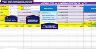 Amazon Com Multi Function Mortgage Loan Amortization Saver