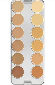 kryolan supracolor 12 colors makeup palette tv at low s in india amazon in