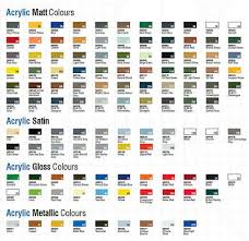 Humbrol Paint Chart Uk Humbrol 6 X Enamel Model Paint 14ml Choose Your Colours
