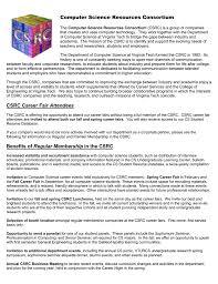 Computer Science Resources Consortium Csrc Career Fair