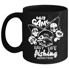 Easy Life Design Coffee Mugs Amazon Com Easy Game For An Easy Life Coffee Mug Fishing