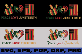 Online free convert files link video, audio, images, document, ebook and more to other formats with this free, fast and online free converter. Peace Love Juneteenth Graphic By Dodo2000mn1993 Creative Fabrica