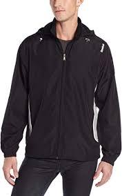 Reebok Men's Woven Jacket with Hood : Athletic ... - Amazon.com