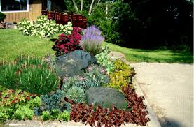 Small Picture Small Front Yard With River Rocks Landscaping Ideas Garden Trends