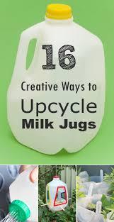 16 Creative Ways to Reuse and Upcycle Milk Jugs | Milk jug crafts ...