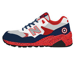 new balance shoes red and blue. 2014 new balance 580 captain america blue white red womens hot sale · shoes and s