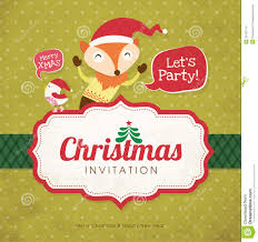 christmas invitation card stock images image  christmas invitation card