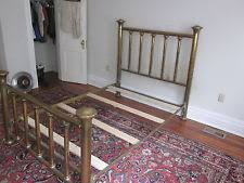 antique brass bed. Antique / Vintage Full Sized Brass Bed, Heavy Weight Bed N