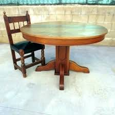 antique oak pedestal table round oak pedestal dining table antique oak pedestal table home design gorgeous antique oak pedestal table