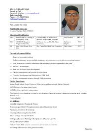 Chef Sample Resume Resumepower Execlevel Indian Examples Cover