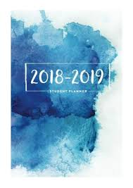 2018 2019 Student Planner Pdf Daily Journal 6 X9 Academic Planne