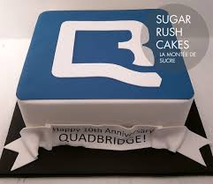 Quadbridge Corporate Cake Sugar Rush Cakes Montreal