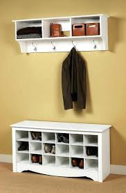 clothing hooks wall coat rack bench marvellous ikea mounted great creative interior wood floor with