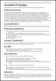 Sample Of Key Skills In Resume Counsellor Sample Example Key Skills