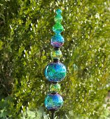 metallic gl garden totem