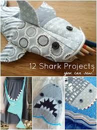 12 Shark Projects to Sew - & 12 shark tutorials you can sew! | patchwork posse | easy sewing projects  and free Adamdwight.com