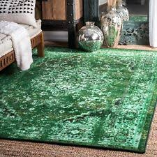 Green overdyed rug Diy Nuloom Persian Overdyed Vintage Traditional Distressed Area Rug In Green Ebay Overdyed Rug Ebay