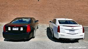 2016 Cadillac ATS-V vs. 2004 Cadillac CTS-V Showdown: Generation ...