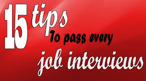 Interview Tips Job Interview Tips 15 Tips To Pass Every Job Interviews Youtube