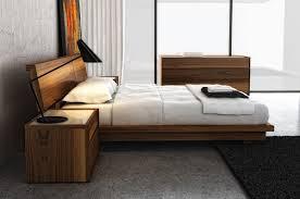 Swan Modern Platform bed King size Model 4000K
