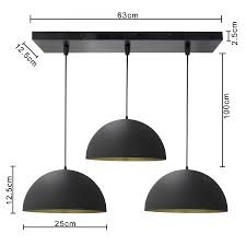 3 lights linear cer chandelier black 10 pendant hanging pendant light kitchen area and dining room light