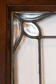 full size of arts and crafts beveled glass door in oak with original crystal doorknobs at