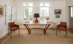 sisal proves extremely versatile throughout this federal style home s interior spaces