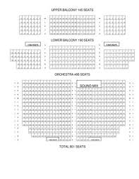Tivoli Theater Seating Chart Related Keywords Suggestions